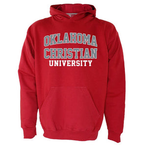 OnMission Hooded Sweatshirt, Crimson