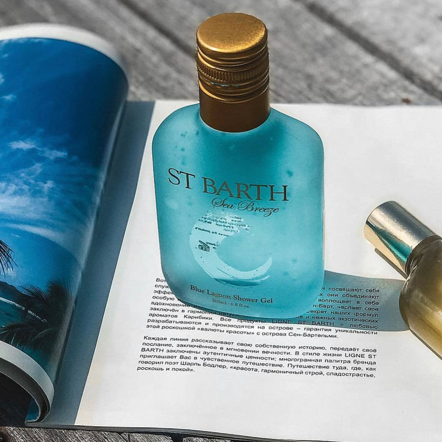 ST BARTH Blue Lagoon shower gel - caleri1898