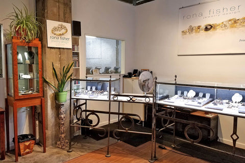 Rona Fisher Jewelry showroom