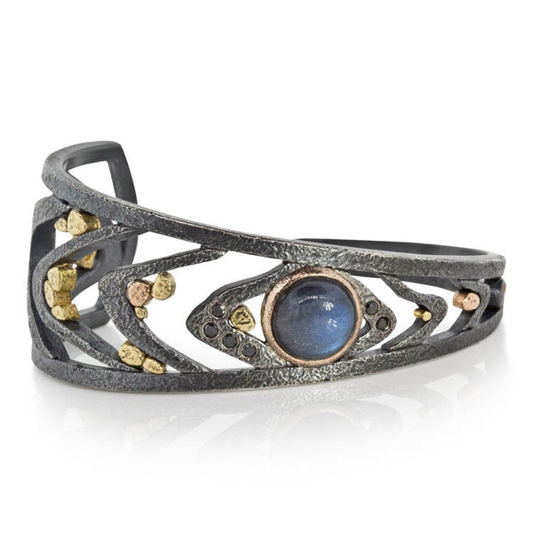 Radiating Waves Cuff Bracelet