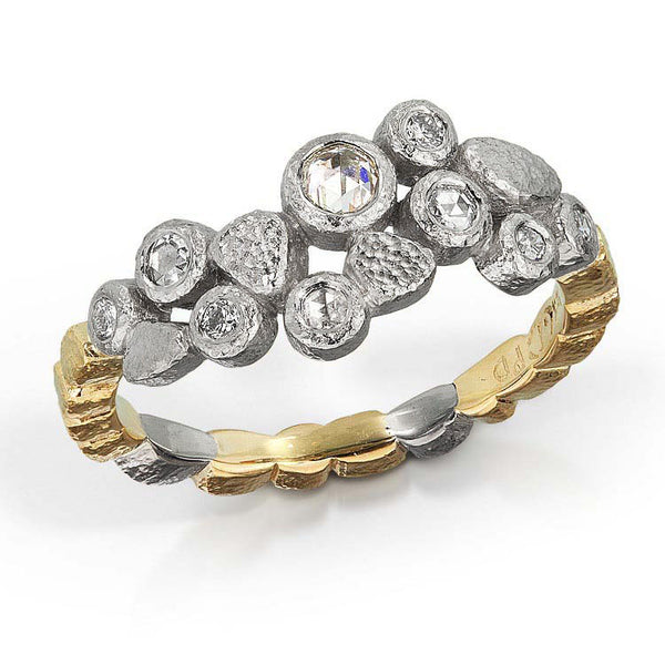 Dancing Diamonds Ring