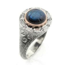 Arabian Nights Labradorite Ring - Small