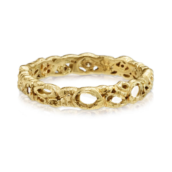 Effervescence Band in 18k Yellow Gold