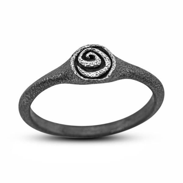 Spiral Ring in sterling silver