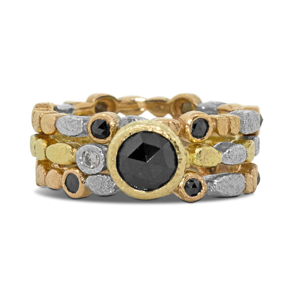 Skinny Pebbles Black Diamond Band