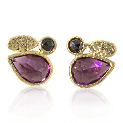 Pear shaped rhodolite