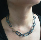 Free-form Chunky Necklace