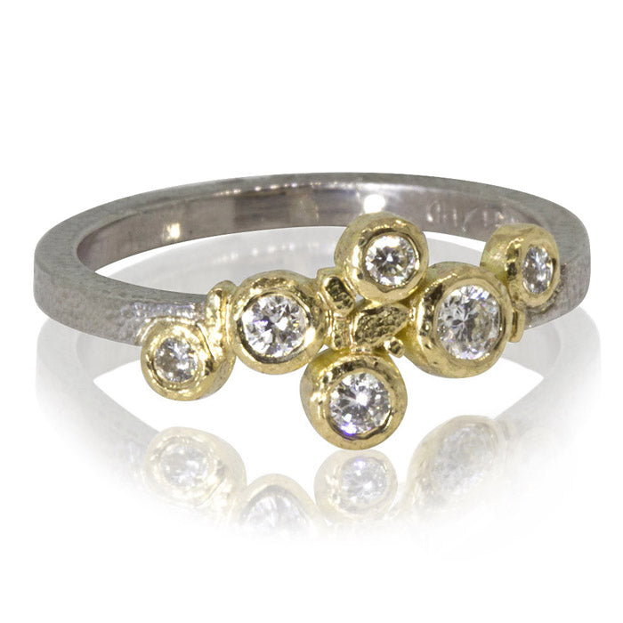 Babbling Brook Diamond Ring