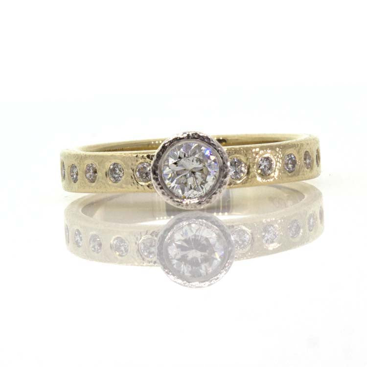 Custom Diamond Wedding Ring 2 EK