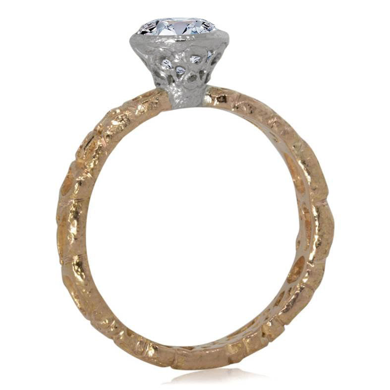 Effervescence Diamond Ring side view