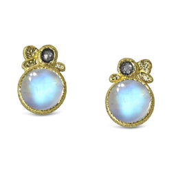 dfd3da5e3cb52 Moonstone Pebble Stud Earrings