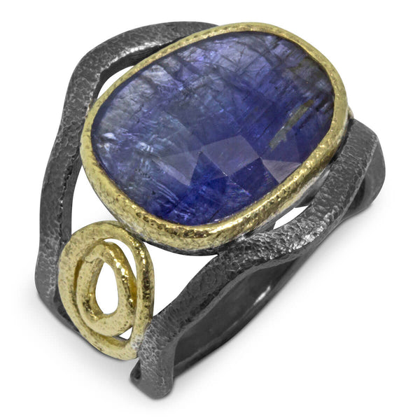 Mountain Stream Tanzanite Ring