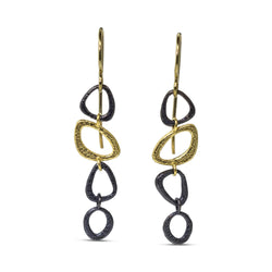 Dangle chain earrings