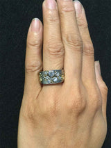 River Pebbles Diamond Ring on hand