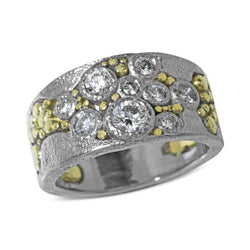 River Pebbles Diamond Ring