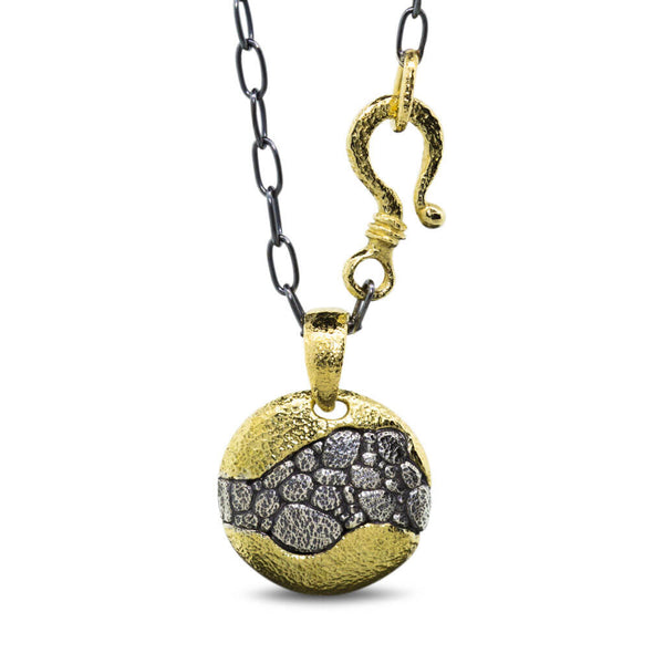 Riverbed Pendant Necklace
