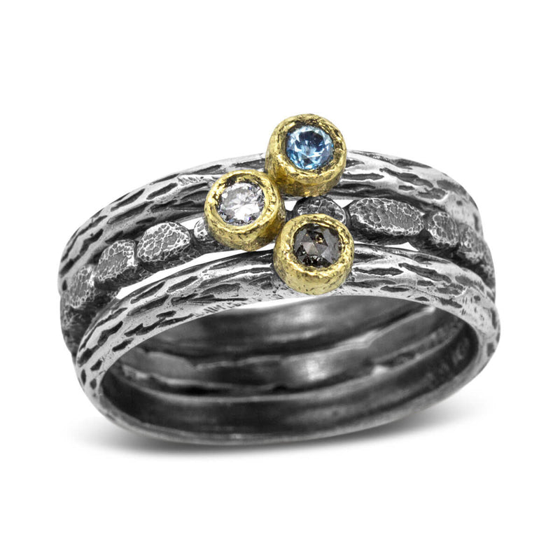 Set of Stack Three Rings