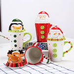 3D Christmas themed Mugs - My Pretty Kitchen
