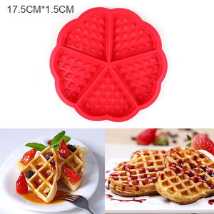 Non-stick Silicone Waffle & Cake Mould - My Pretty Kitchen