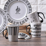Creative Music Crockery Set - My Pretty Kitchen