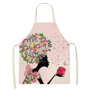Girly Printed Aprons