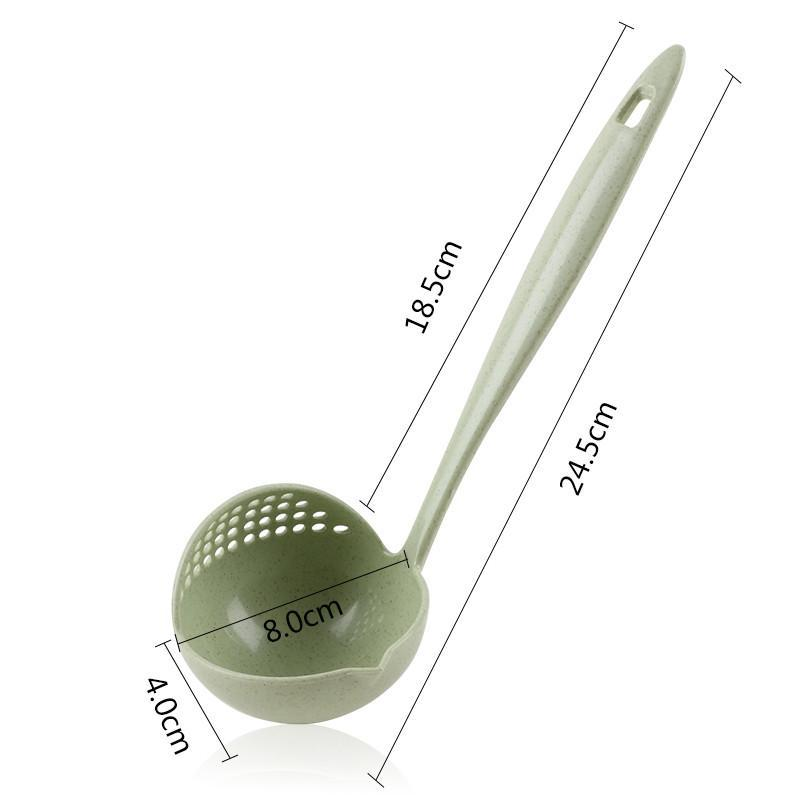 Long Handle Soup Spoon Strainer - My Pretty Kitchen