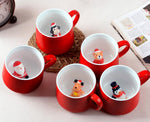 Cute Kids Christmas Mugs - My Pretty Kitchen
