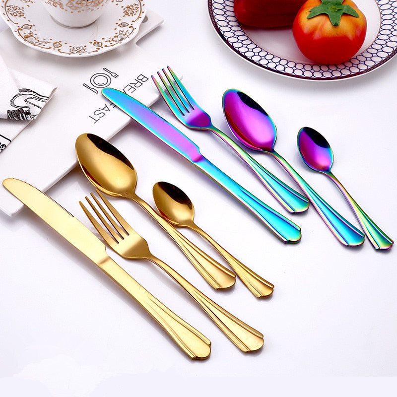 Colorful Cutlery Set - My Pretty Kitchen