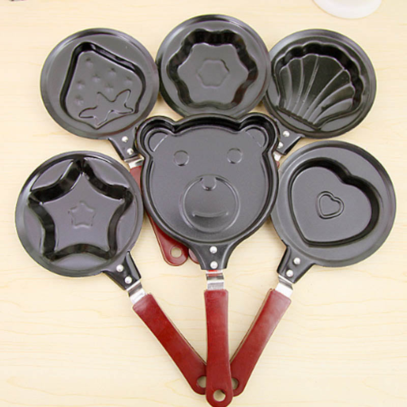 Cute Shaped Egg Mould Pans - My Pretty Kitchen