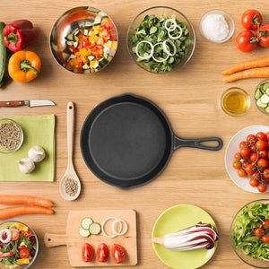 Uncoated Cast Iron Skillet - My Pretty Kitchen