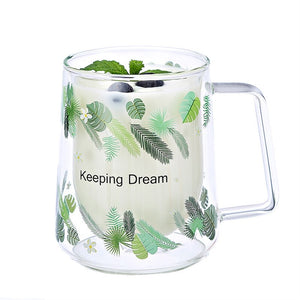 Creative Double Glass Mug - My Pretty Kitchen