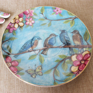Luxury Floral and Birds Tea Set - My Pretty Kitchen