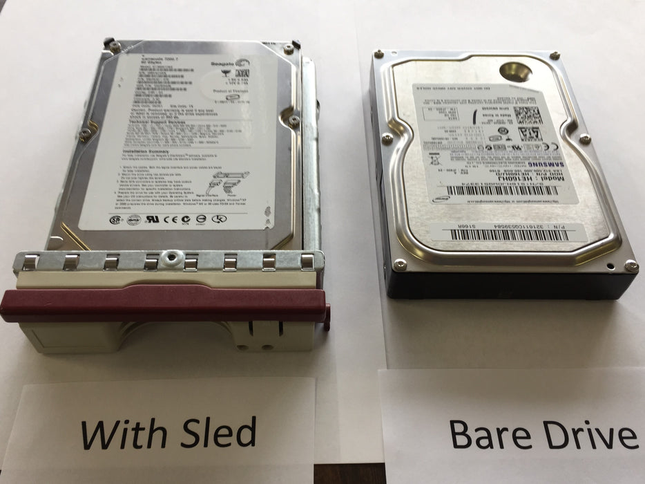 "3.5"" Hard Drive - 3 Capacity Case - Long Slots"