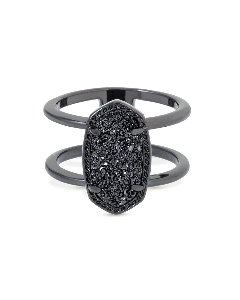 Elyse Ring In Gunmetal