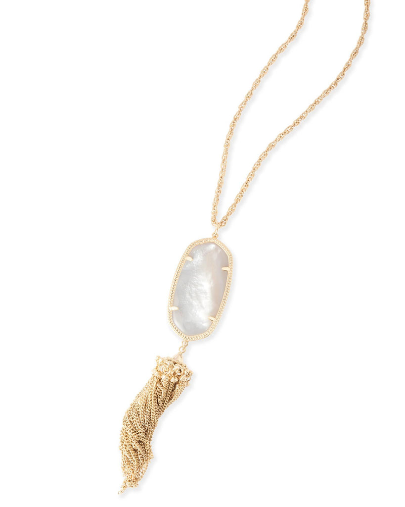 Rayne Necklace In Ivory Mother of Pearl
