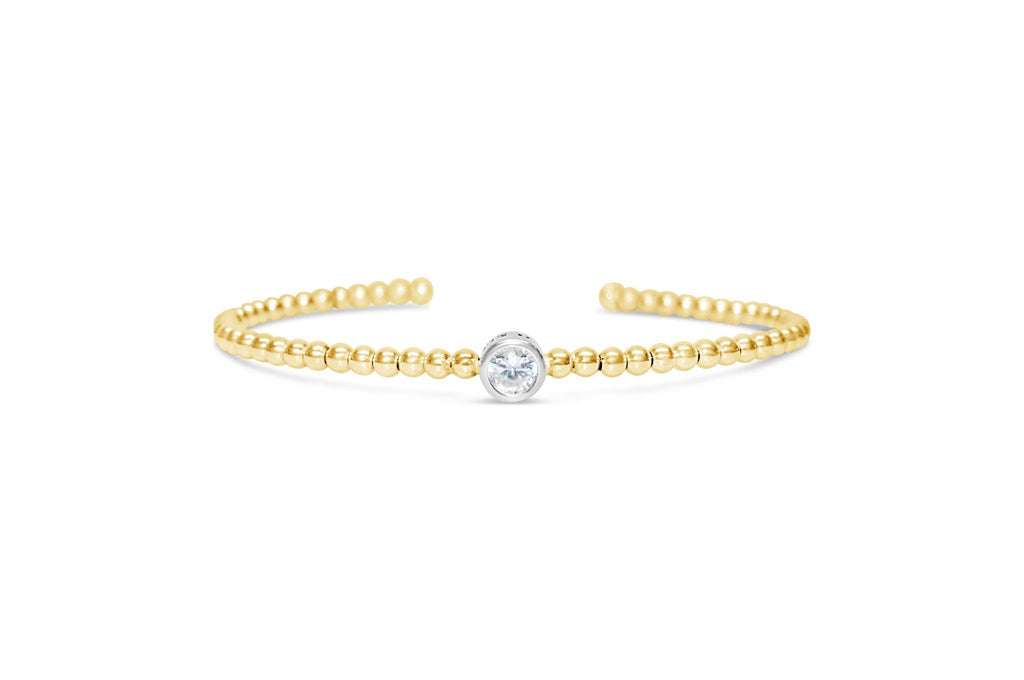 Flex Fit Bracelet Pavé 1 CT Bezel