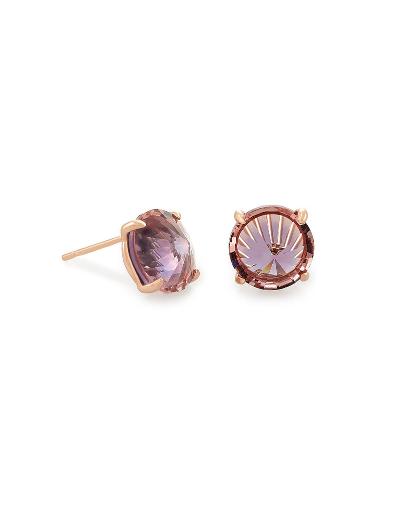 Kendra Scott Jolie Rose Gold Stud Earrings