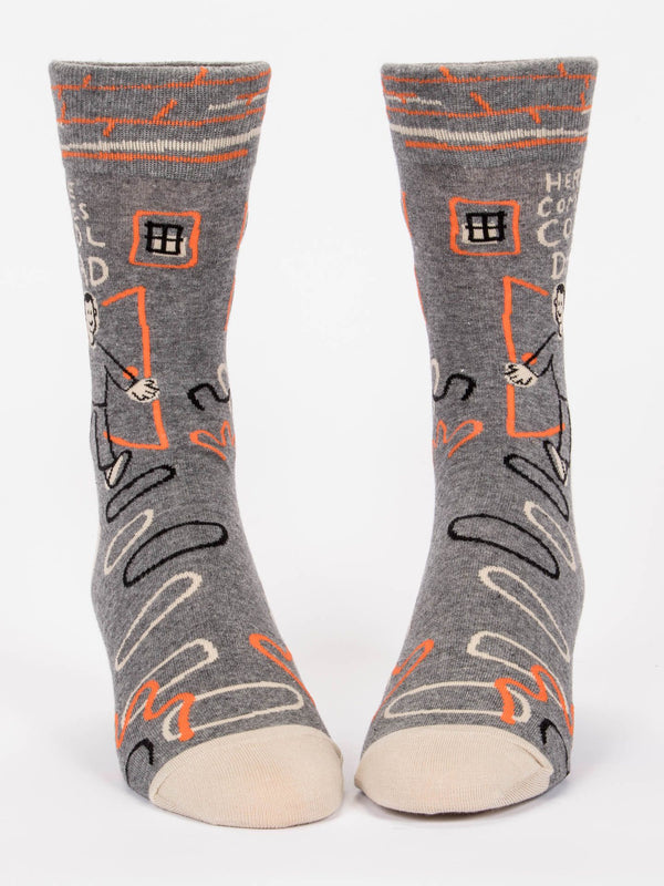 HERE COMES COOL DAD M-CREW SOCKS