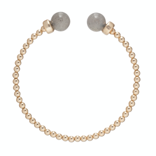 Classic Gold 3mm Bead Cuff