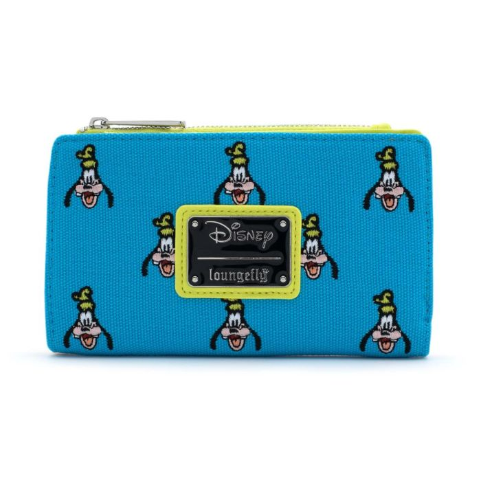 Disney Goofy Embroidered Canvas Wallet