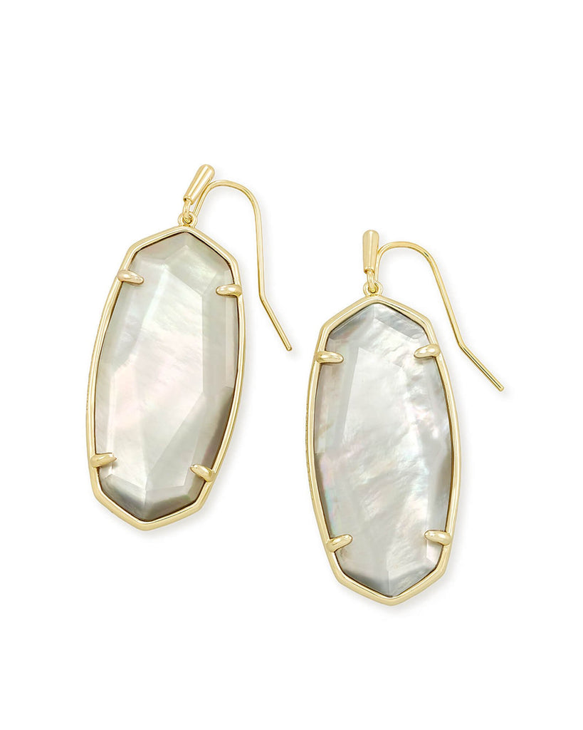 Faceted Elle Drop Earrings