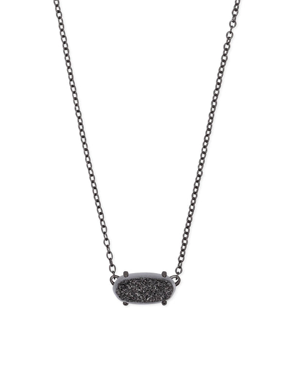 EVER NECKLACE - Gunmetal
