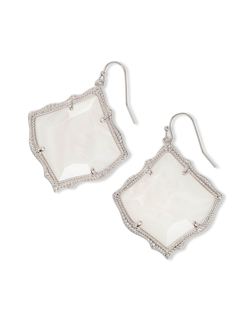KIRSTEN EARRINGS - RHODIUM