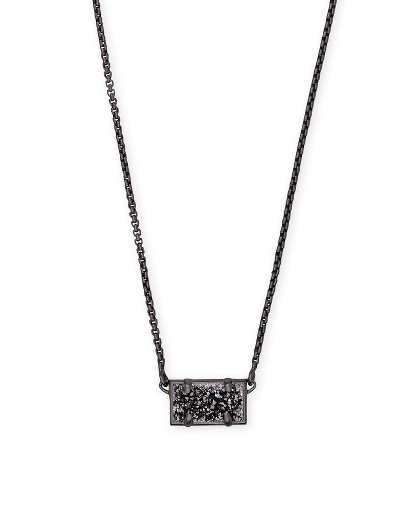 PATTIE NECKLACE - GUNMETAL