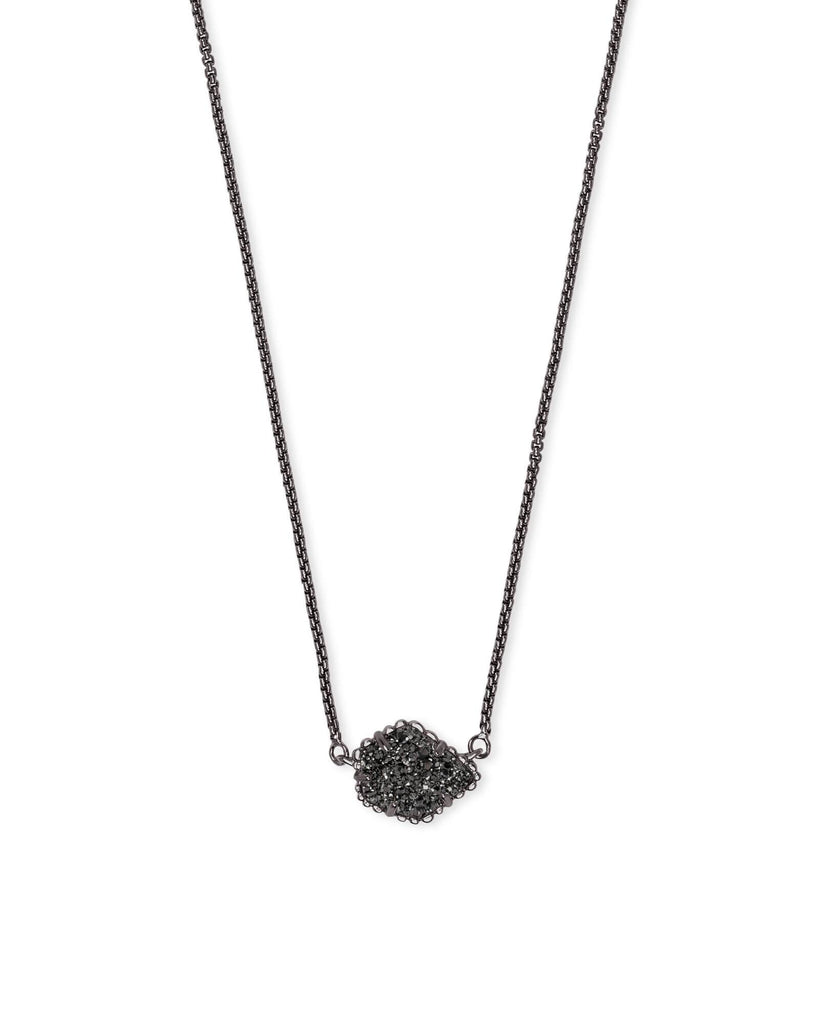 TESS NECKLACE - GUNMETAL