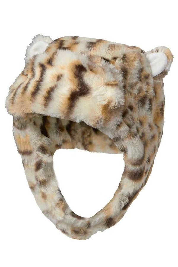 BABY GIRL'S TRAPPER HAT - PEA