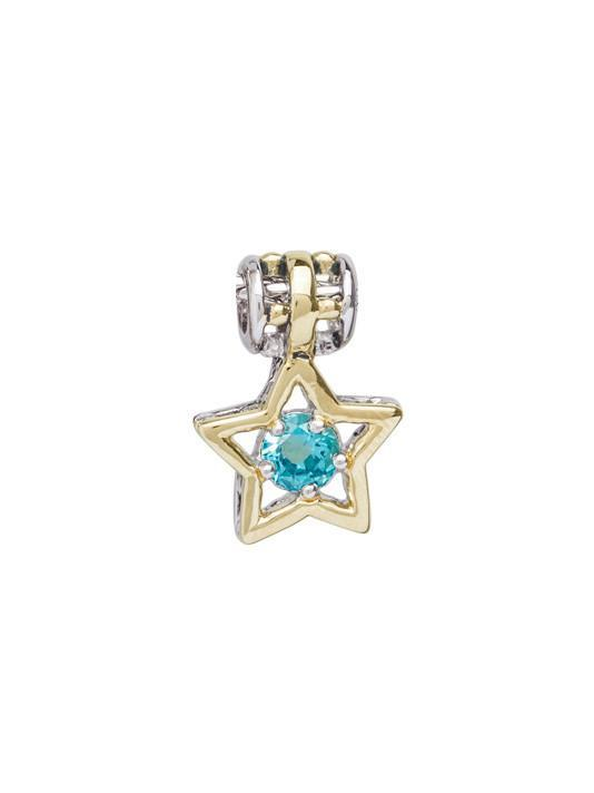 CELEBRATION BIRTHSTONE COLLECTION STAR CHARMS-DECEMBER