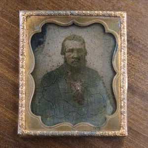 Antique Ambrotype of Bearded Man