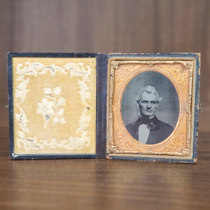 Antique Framed Ambrotype of Distinguished Man