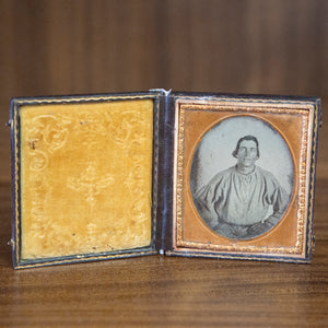 Antique Framed Ambrotype of Man